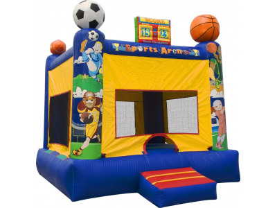 sports-arena-bounce-house